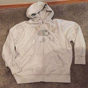 Men's zip up America eagle sweatshirt xxxl